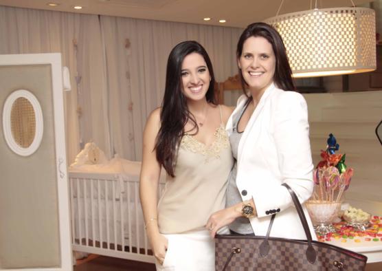 Catarina Brito e Mariana Calheiros. Crédito: Manuela Arruda / Divulgação