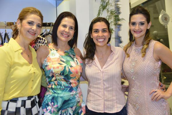 Karla, Christiane, Duda e Letícia. Crédito: Lulu Pinheiro / Divulgação