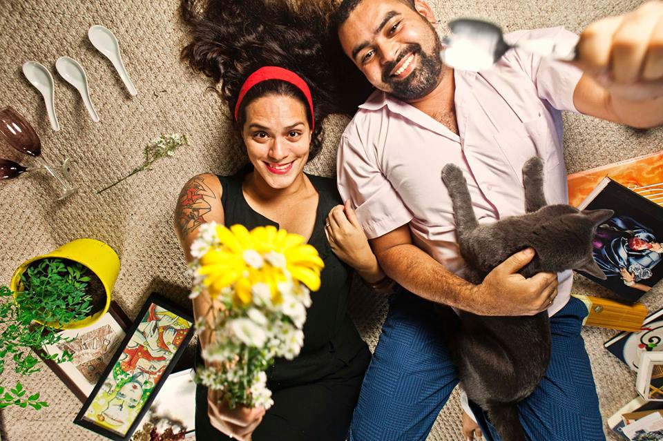 Luisa Acceti e Rafael Medeiros - Foto: Facebook