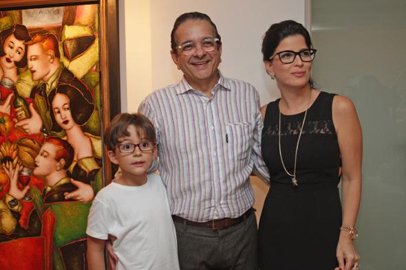Antônio, Antônio Lavareda e Carla Credito: Roberto Ramos/DP/D.A Press