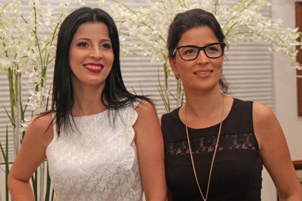 Cátia e Carla comemoraram juntas Credito: Roberto Ramos/DP/D.A Press