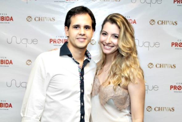 Ulysses Pernambucano e Priscila Leão - Crédito: Innovo/Divulgação