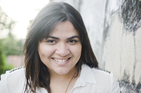 Gabriela Barros é especialista em fotos de recém-nascidos. Crédito: Arquivo pessoal / Divulgação