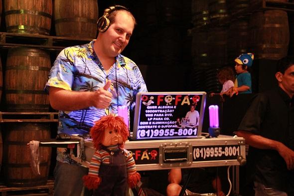 DJ Fofão - Crédito: Divulgação