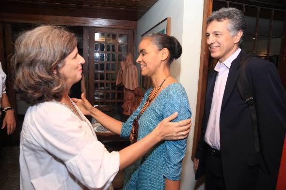Renata Campos e Marina Silva - Crédito: RFoberto Pereira/SEI/Divulgação