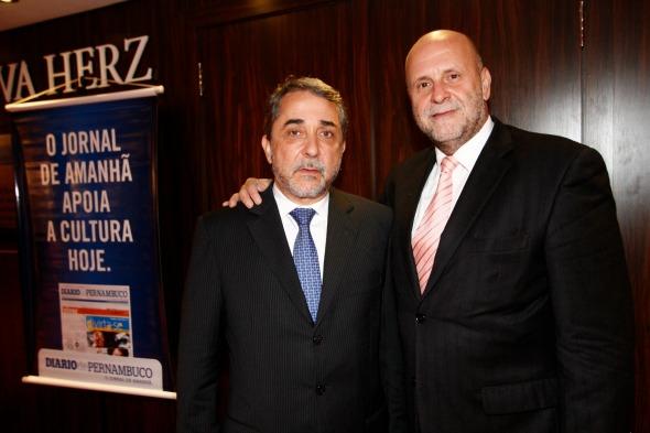 Guilherme Machado e Homero Reis Homero Reis Credito: Ricardo Fernandes/DP/D.A Press