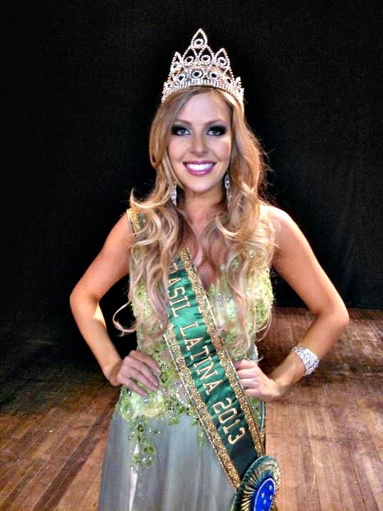 Julia Guerra, a Miss Brasil Latina - Crédito: Divulgação