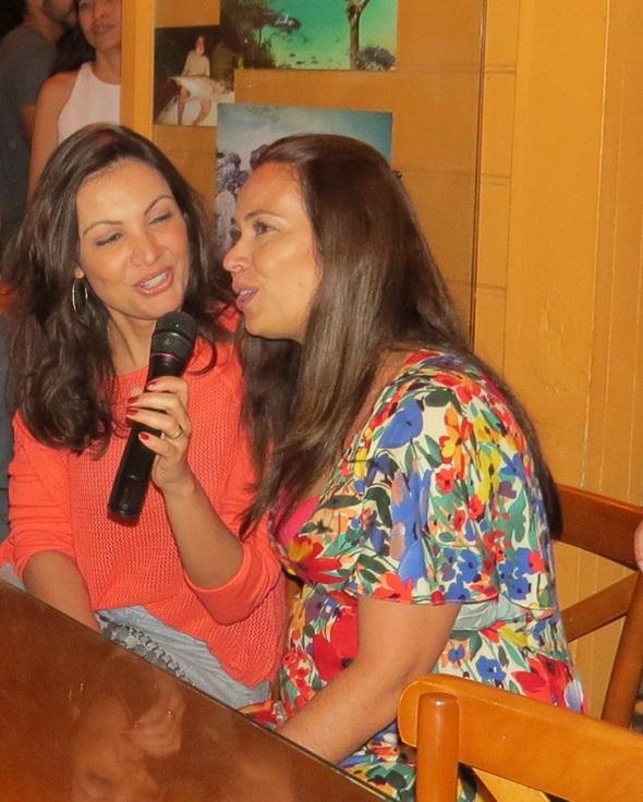 Patrícia Poeta e Beatriz Castro - Crédito: Ana Clara Marinho