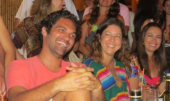 Tuca Sultanum, Malu Verçosa e Beatriz Castro - Crédito: Ana Clara Marinho