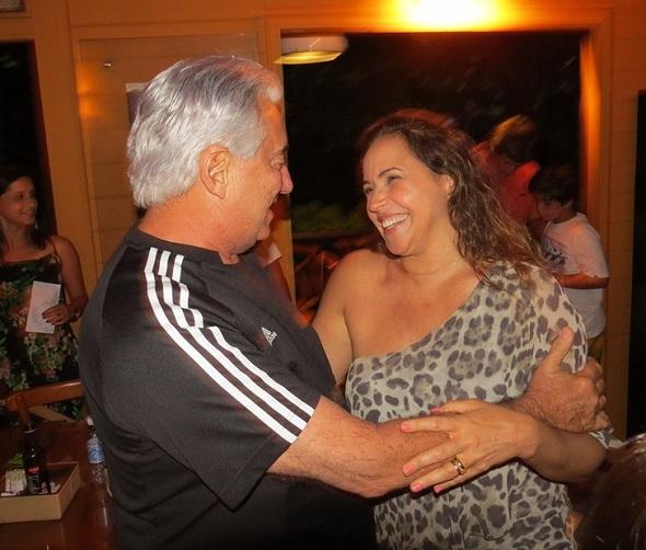Francisco José e Daniela Mercury - Crédito: Ana Clara Marinho