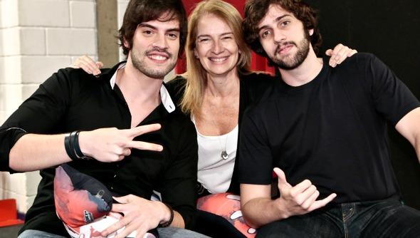 Rafael comemorou ao lado dos familiares - Crédito: Isabella Pinheiro/Divulgação