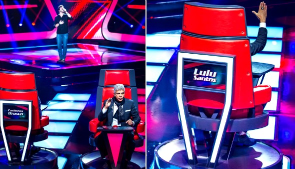 Lulu Santos foi o segundo jurado a virar a cadeira para Rafael Furtado - Crédito: Isabella Pinheiro/Divulgação