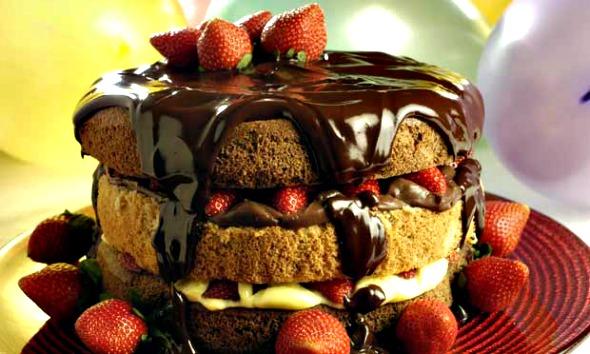 Naked Cake é tendência em bolos - Crédito: Mauro Holanda/Divulgação
