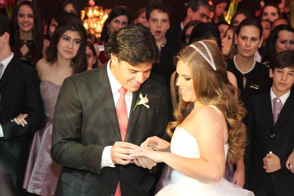 Maurício Gama e Gabriela - Crédito: Nando Chiappetta/DP/D.A Press