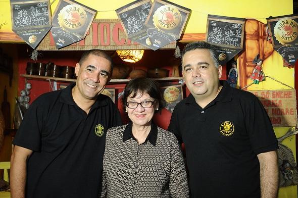 Beto Santos, Ângela Nankan e Raimundo Nonato  -