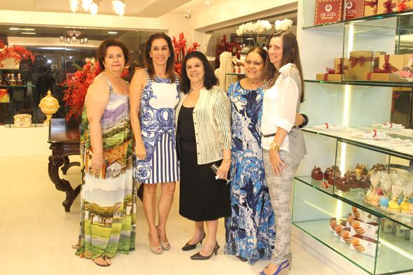 Lucinha Bravo,Patrícia Gomes, Celinha Batista,Beth Itamar e Ivone de Paula Crédito: Nando Chiappetta/DP/D.A Press