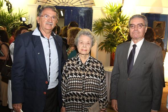 José Mario Rodrigues,Magdalena Arraes e Gladstone Vieira Crédito:Nando Chiappetta/DP/D.A Press