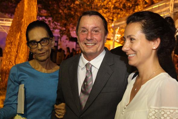 Siema, Carlos Augusto Lira e maria Amelia Levourien Crédito:Nando Chiappetta/DP/D.A Press