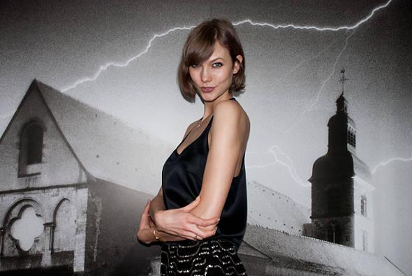A top americana Karlie Kloss é a estrela da abertura do SPFW - Crédito: Andreia Tavares/FFW/Divulgação