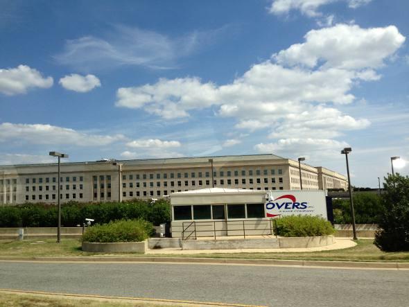 O Pentágono, sede do FBI