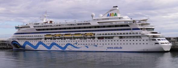 Navio Aida Aurea/Divulgação