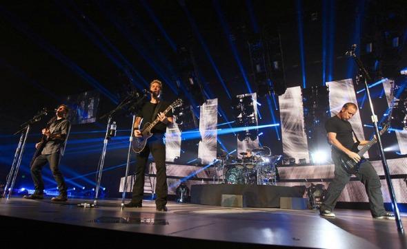 Nickelback será homenageada nesta noite Crédito: Reprodução/nickelback.com