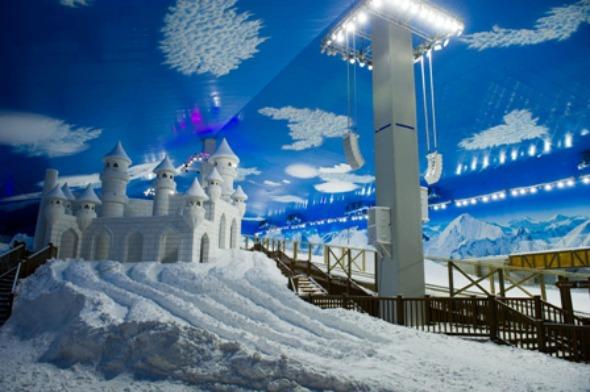 Gramado ganhou o primeiro parque de neve indoor das Américas Crédito: Vinícius Costa