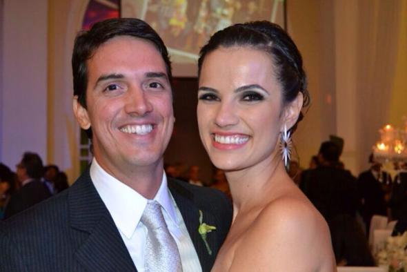 Bruno Fontes e Clarissa Goes à espera do primeiro herdeiro. Crédito: Arquivo pessoal / Divulgação