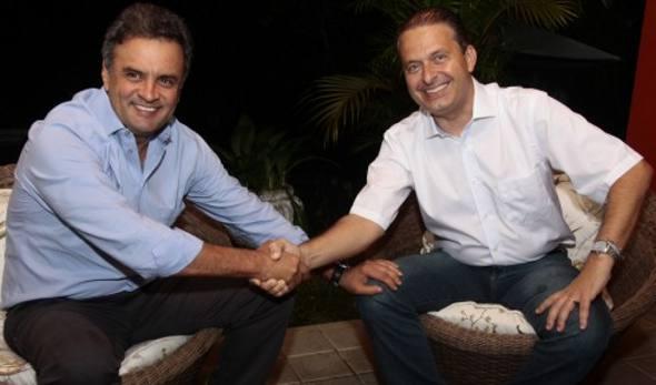 Aécio Neves e Eduardo Campos/Roberto Pereira
