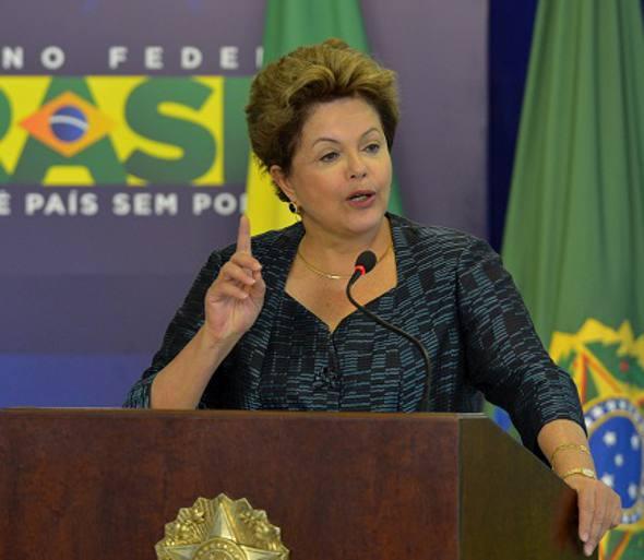 Dilma Rousseff/Crédito Wilson Dias-Ag. Brasil