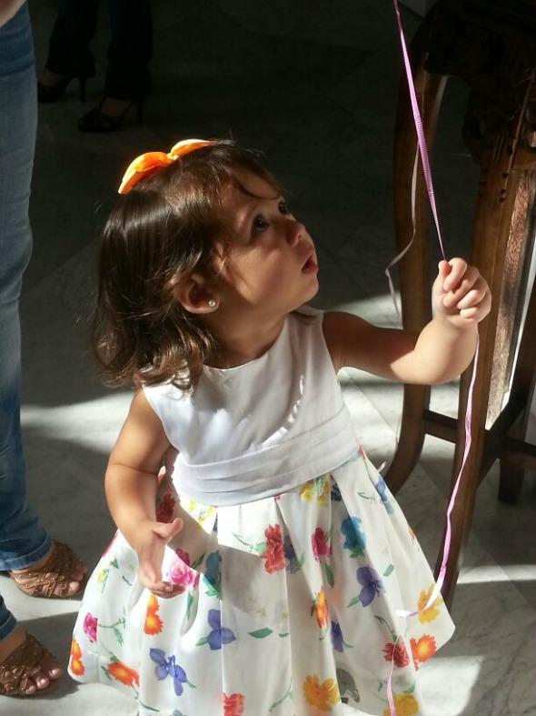 Maria, filha de Manoela Tenório Crédito: Alexandra Menezes