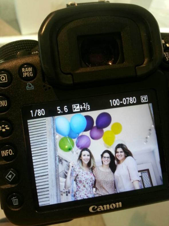 As produtoras Bruna Monteiro, Mariana Barreto e Daniele Laranjeiras Crédito: Alexandra Menezes