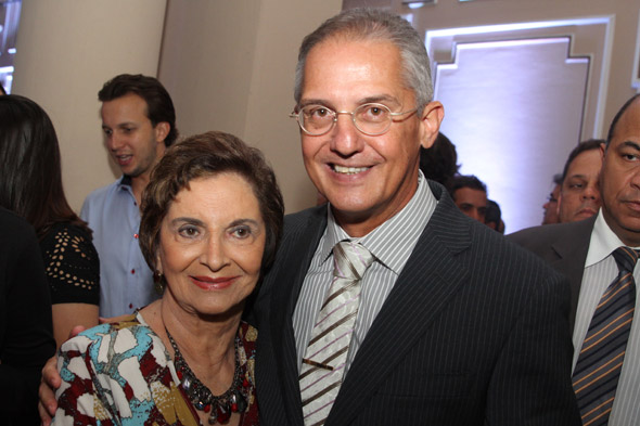 Maria de Nazaré e André Crédito: Nando Chiappetta/DP/D.A Press
