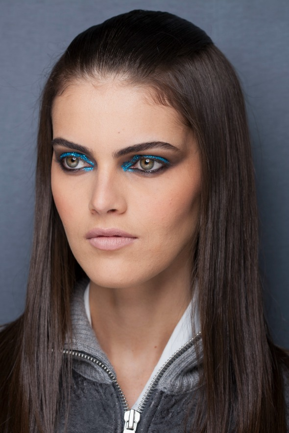 Beleza do desfile da estilista Juliana Jabour