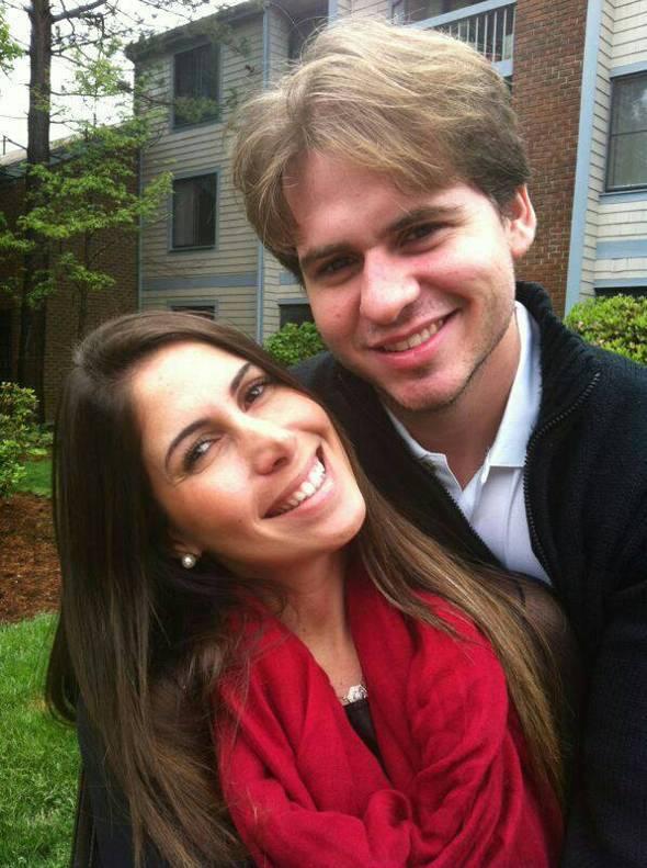 Renata EL-aouar e Guilherme Luck - Crédito: Arquivo pessoal