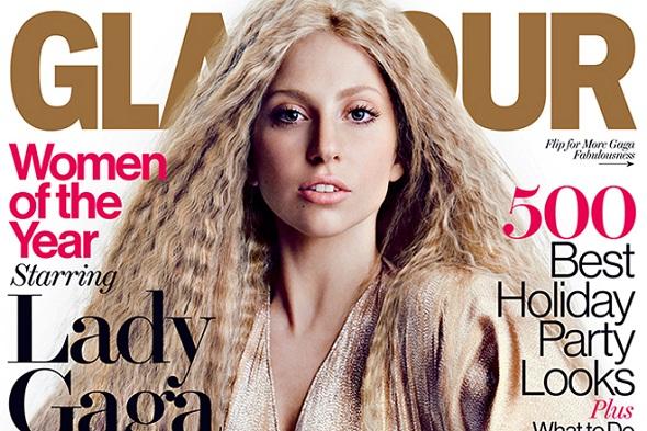 Gaga é capa da Glamour - Crédito: Glamour/Divulgação