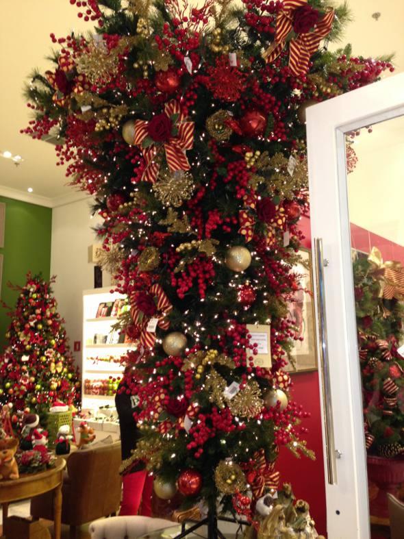Árvore de Natal invertida