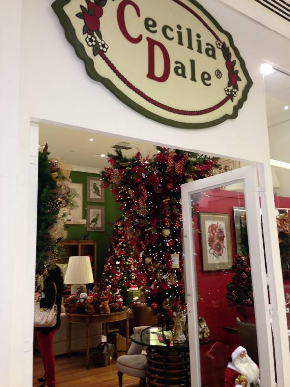 A árvore da Natla da famosa loja Cecilia Dale, de São Paulo