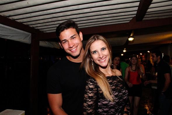 Felipe Piri e Talita Rodrigues - Crédito: Humberto Reis/Divulgação