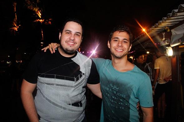 Rafael Urtiga e Lucas Lobo - Crédito: Humberto Reis/Divulgação