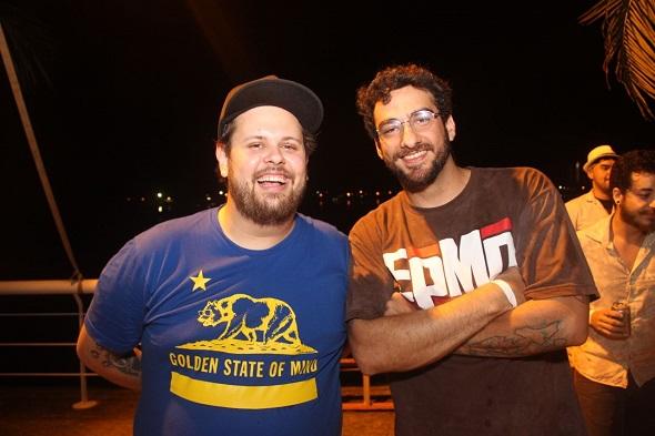 Lucas Logiovine e Renato da Mata - Crédito: Máquina 3/Divulgalção