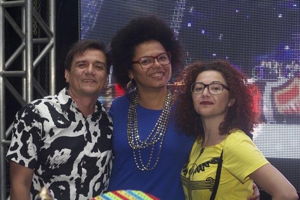 Pepe Jordao ,Lala K e Claudia Aires - Crédito: Máquina 3/Divulgação