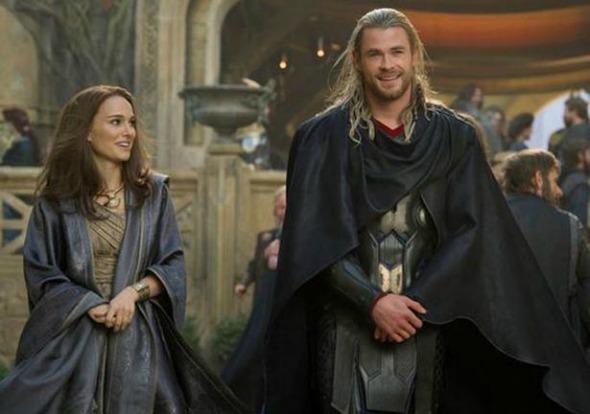 Thor: O Mundo Sombrio foi o filme mais visto no fim de semana Crédito: Thor/Divulgação