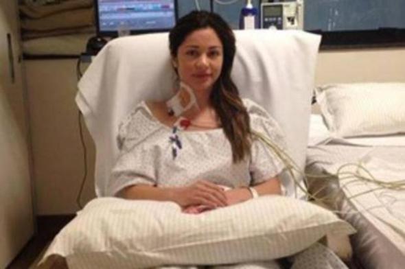 Maria Melilo passou por 10 horas de cirurgia. Crédito: Reprodução Facebook / Divulgação