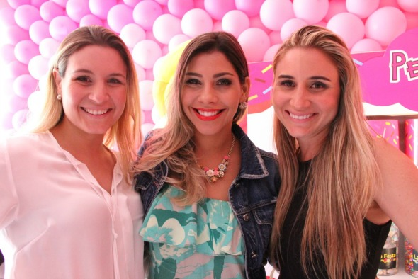 Adriana Perylo, Karla Patrícia e Mariana Perylo Crédito: Regina Coeli