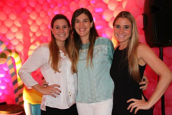 Adriana Perylo, Sandra Carolino e Mariana Perylo Crédito: Regina Coeli