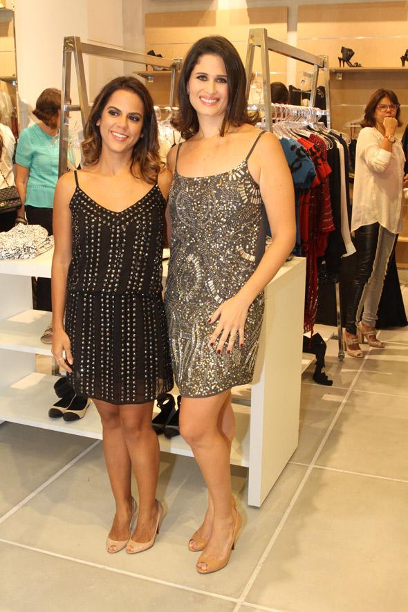 As escolhas das sócias Manuela Tenório e Gabriela Galvão Crédito: Nando Chiappetta/DP/D.A Press