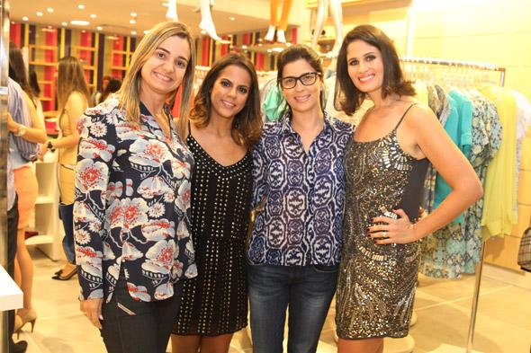 Juliana Cavalcanti, Manuela Tenório, Carla Bensoussan e Gabriela Galvão Crédito: Nando Chiappetta/DP/D.A Press