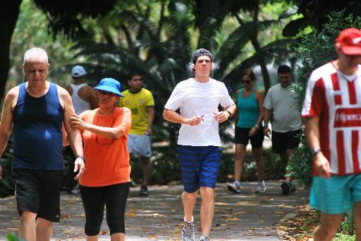 Parque da Jaqueira vai sediar a Primeira Maratona de Dança - Crédito:  AndréMarins/Esp. para o DP/D.A Press