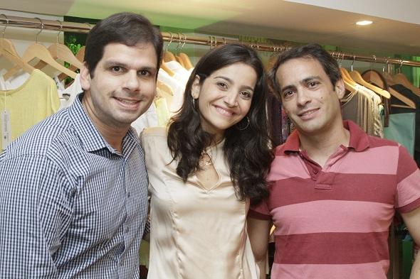 Gera Figuerôa, Alessandra Sobral e Marcelo Maia - Crédito: Duda Carvalho/Divulgação